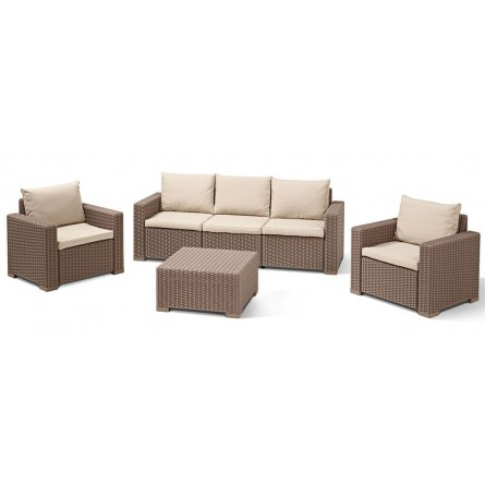 Allibert California 3 seater Cappuchino